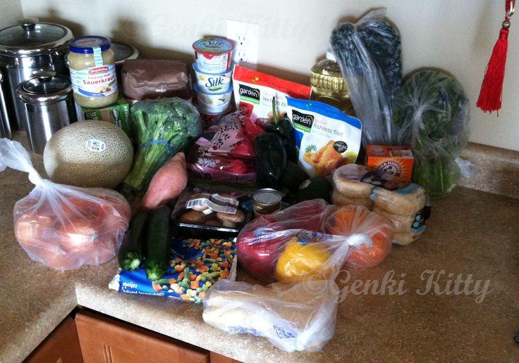 Vegan Grocery Haul for 2 PPL