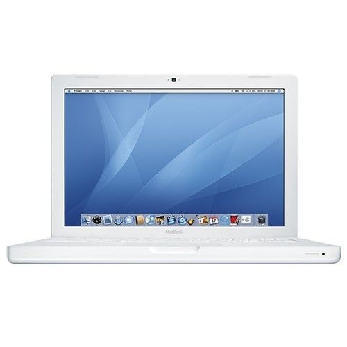 """Apple MacBook Core 2 Duo T7400 2.16GHz 1GB 120GB DVD±RW 13.3"""" MB062LL/A Notebook AirPort OS X w/Webcam"""