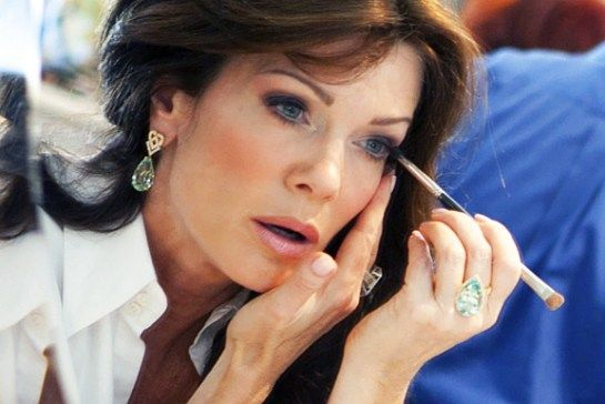 Lisa Vanderpump's beauty tips including how Lisa Vanderpump does her makeup, favorite lip gloss, where she gets her hair done, her facialist, her skin care
