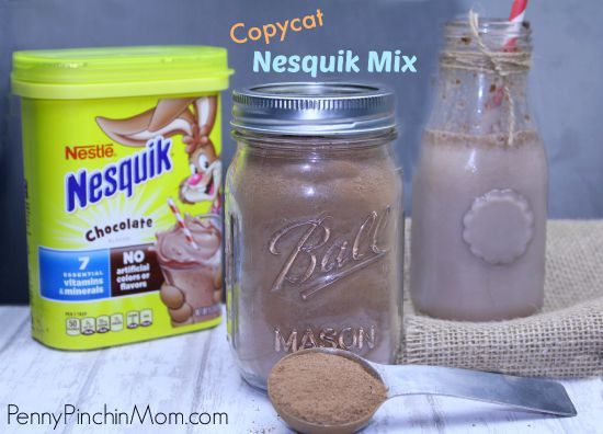 Why buy Nesquick wwhen you can make it a home for a LOT less!!!!  Get this awesome copycat recipe!!!