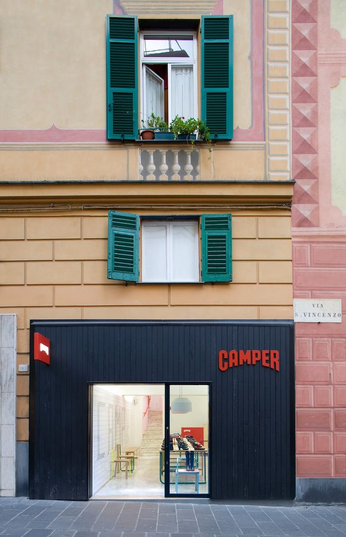 Tomas Alonso for Camper, Genova.