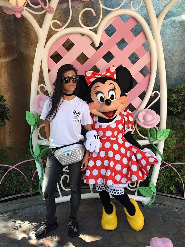 Kourtney Kardashian Disney World