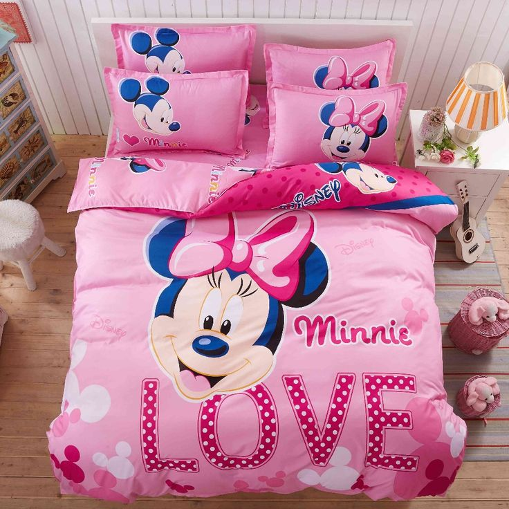 minnie mouse bedroom set full size with images  dekoracje