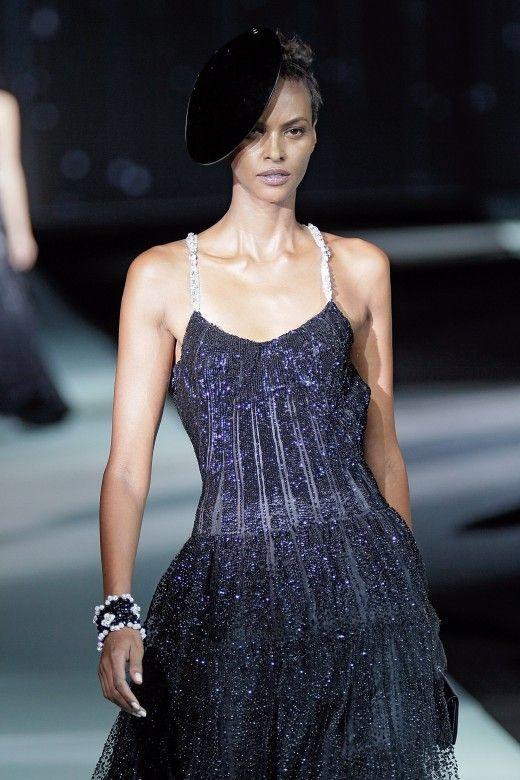 Giorgio #Armani Privé runway look #onenightonlynyc