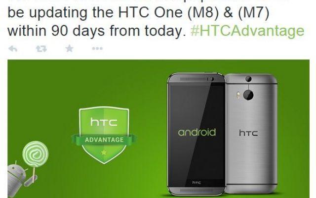 HTC One M7 e M8: entro 3 mesi l'Aggiornamento ad Android Lollipop! #androidlollipop