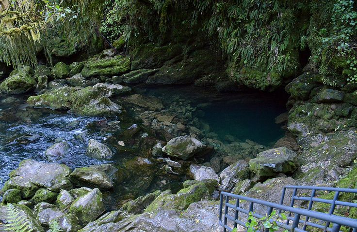 Crystal Pool, Riwaka Resurgence.
