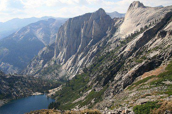 Hamilton Lake, Valhalla Cliffs, Sequoia National Park, CA