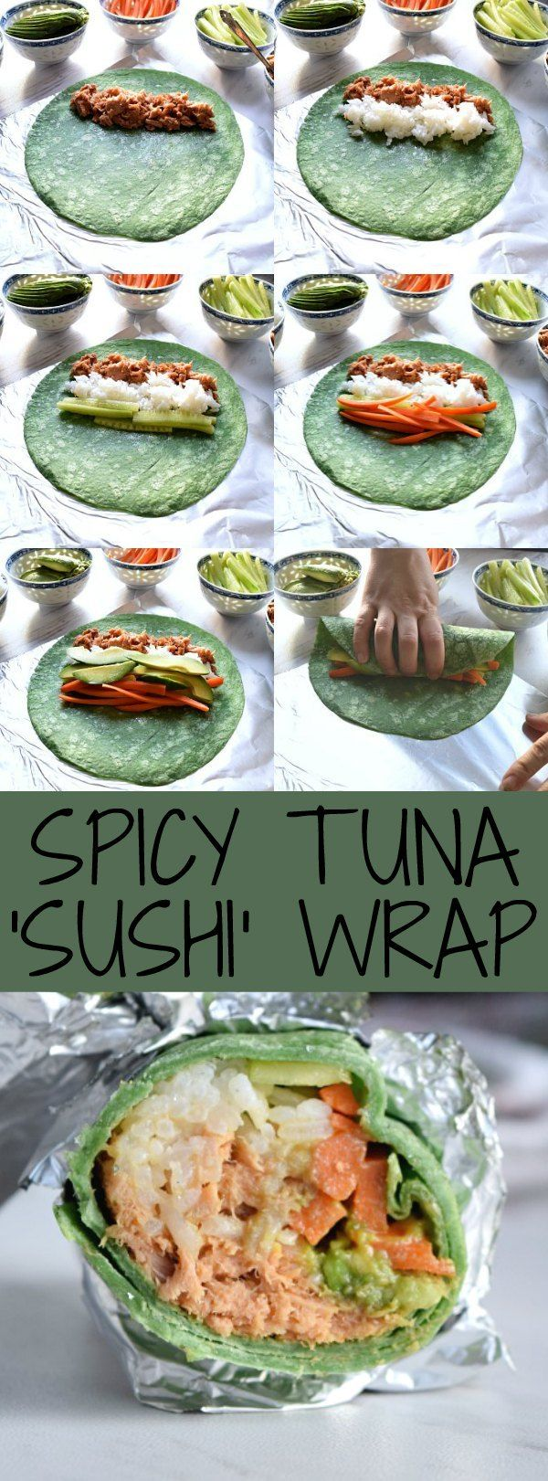 Spicy Tuna 'Sushi' Wrap