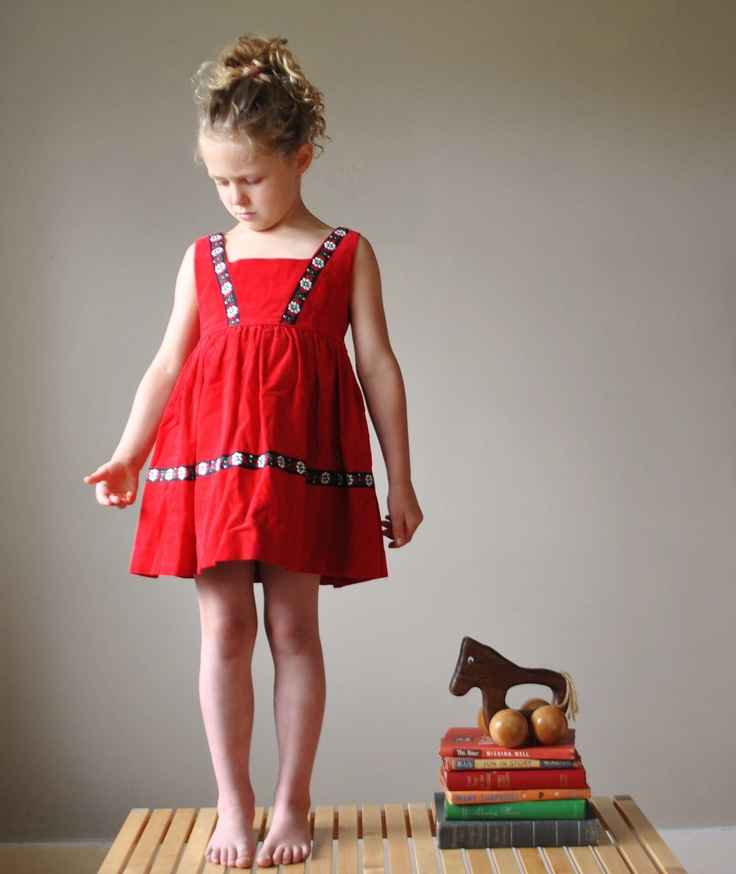 Kid's Corduroy Dress