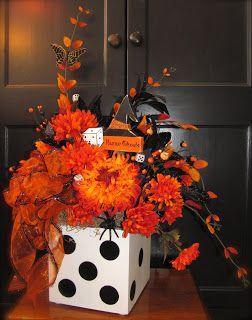 Acrylic Creations- for Halloween Bunco