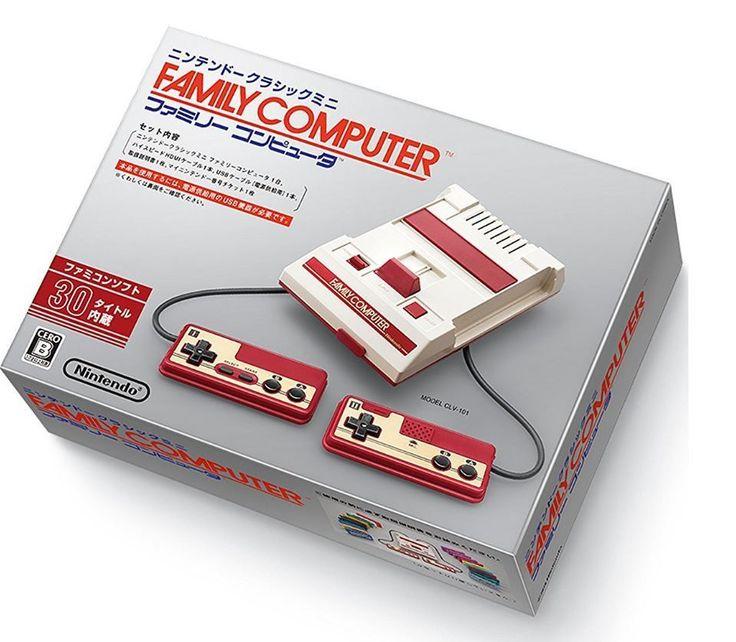 NEW Nintendo Famicom Classic Mini Japan Console With Tracking F/S NES #Nintendo