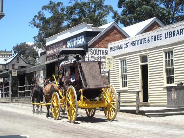 Sovereign Hill Ballarat A day Trip from Melbourne Australia