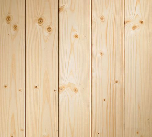Empire Wholesale Lumber Premium V Groove Knotty Pine Wall
