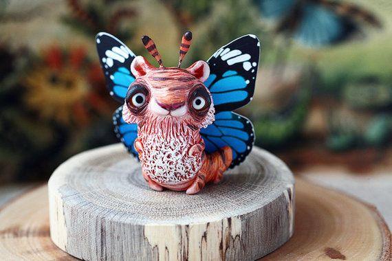 Tiger Butterfly by chercheto on Etsy