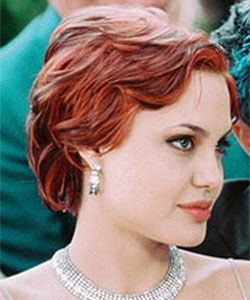The 25 best angelina jolie short hair ideas on pinterest angelina jolie short red hair urmus Image collections