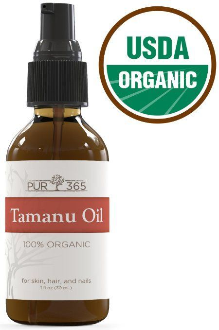 Pur365 Tamanu Oil - Pure Cold Pressed and Unrefined - Best Treatment for Psoriasis, Eczema, Acne Scar, Nail Fungus Plus More - Relief for Dry, Scaly Skin, Blisters and More - 365 Day Guarantee