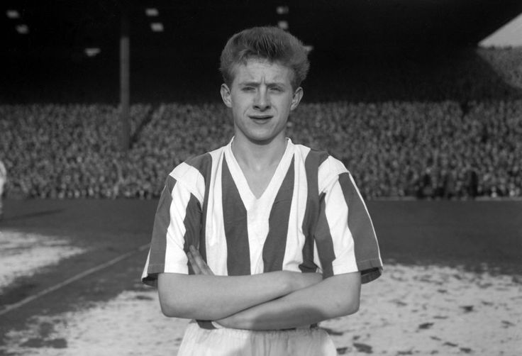 17-year-old Denis Law in Huddersfield Town, 1957
