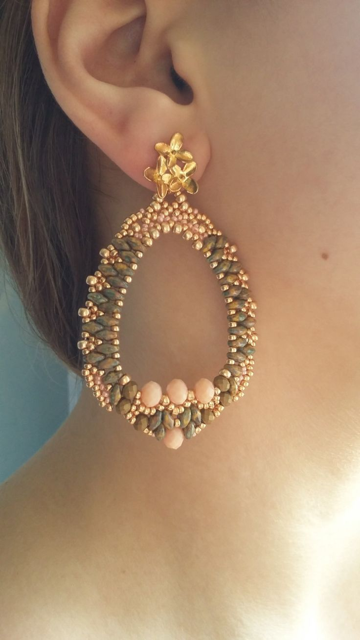 Find This Pin And More On Wire Wrapped Jewelry: Earrings