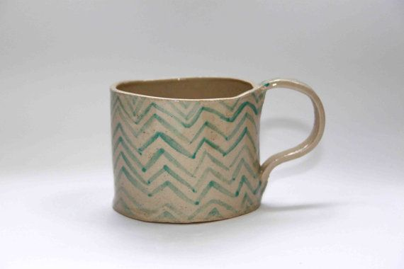 Zag pattern >> morning coffee cup