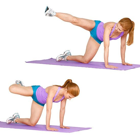 Five Quick Exercises to Tone Your Tush    Have fifteen minutes to spare? These quick moves from Jeannete Jenkins, creator of The Hollywood Trainer DVD series, will tighten your bum and improve your rear view. Grab a mat and get moving.