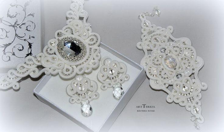 biżuteria ślubna sutasz kryształowy