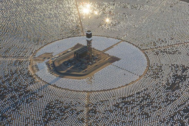 Ivanpah, het grootste zonnepark ter wereld.