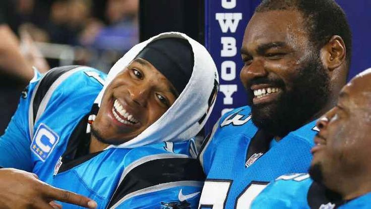 Carolina Panthers' Cam Newton recruited Michael Oher to protect his 'Blind Side'