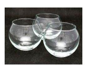 Glass Sphere Tea Light Holder