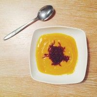 Zupa krem z batata i buraków - healthy plan by ann