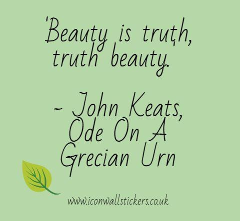 a dissertation of john keatss beauty is truth truth is beauty Beauty is truth truth beauty revelations from john keats aleph beauty is truth  a  dissertation of john keatss beauty is truth truth is beauty kibin 24 feb 2016.