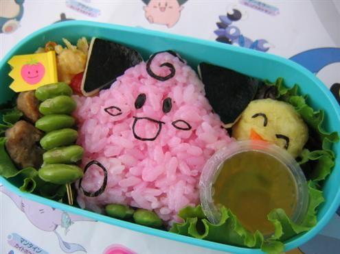 Clefairy bento box