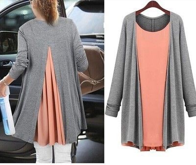 Maternity Long Sleeve Dress Autumn Maternity Blouses Top Two piece Maternity Clothes For Pregnant Women Clothing Pregnancy Dress