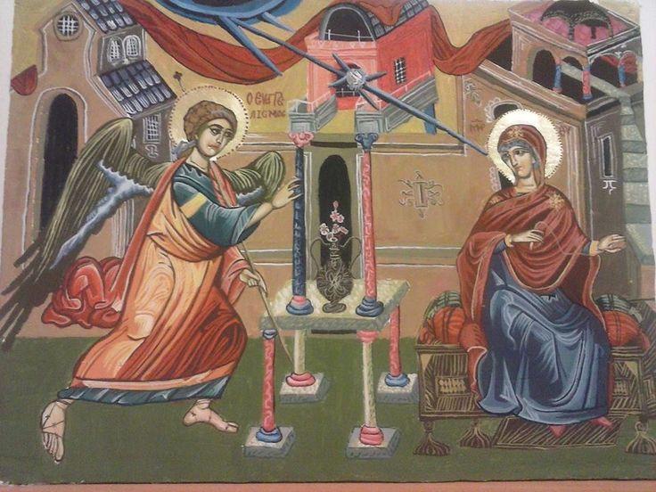 Ο Ευαγγελισμός της Θεοτόκου (Annunciation) 30*40