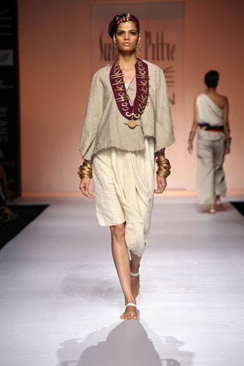 Suhani Pittie Collection at Lakme Fashion Week 2013 on Day 1