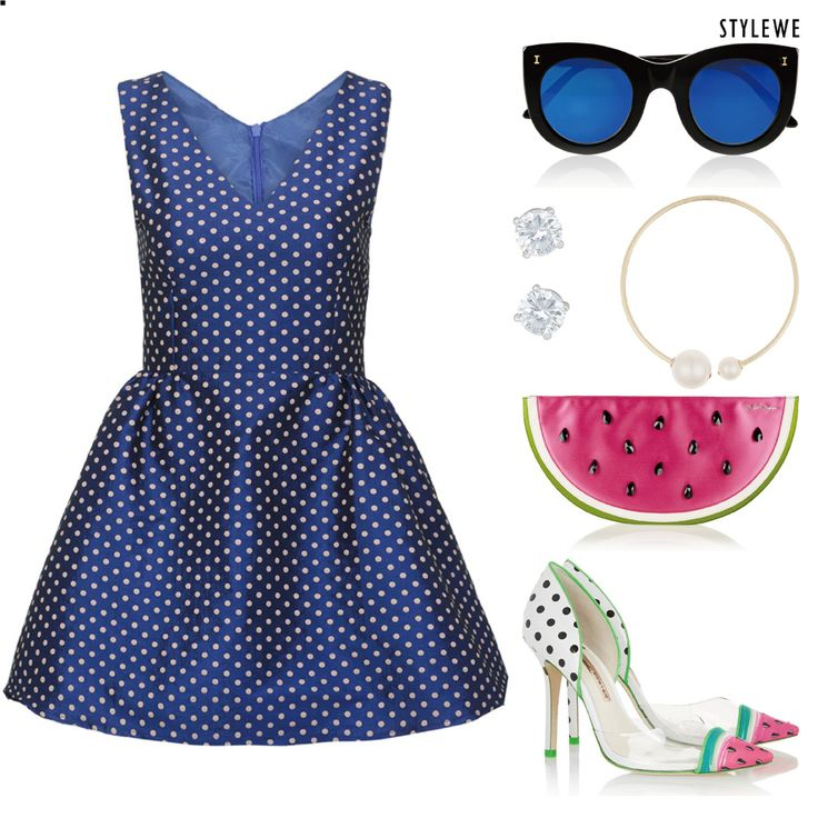 My favorite item - Polka Dot Dress! And you?