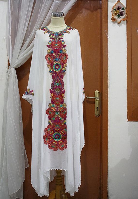 Chiffon Moroccan Caftan