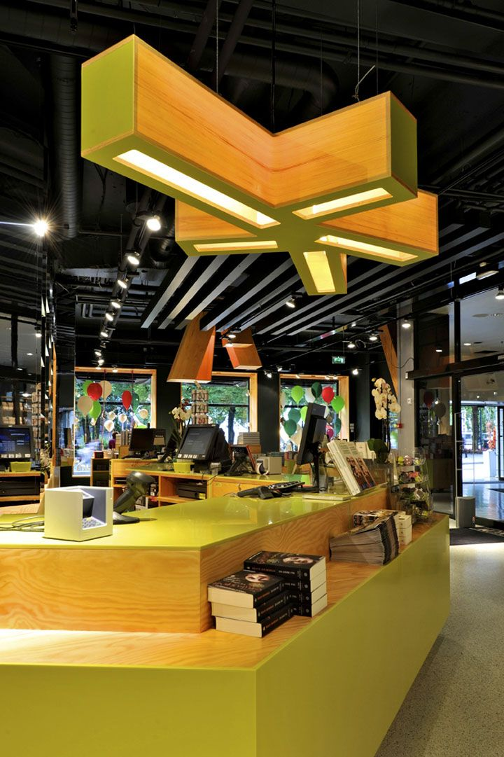 Tanum Karl Johan bookstore flagship by JVA, Oslo