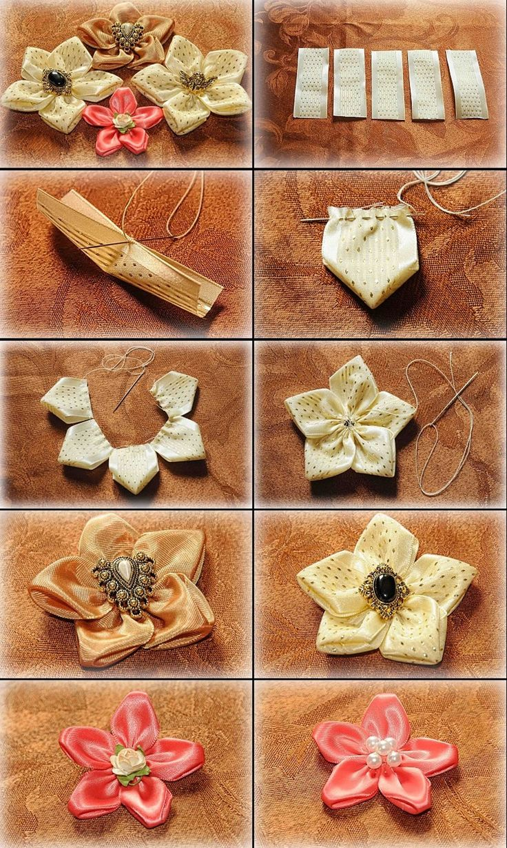 Beautiful and unique ribbon flowers! https://www.retailpackaging.com/categories/74-everyday-specialty-ribbon #DIY #crafts