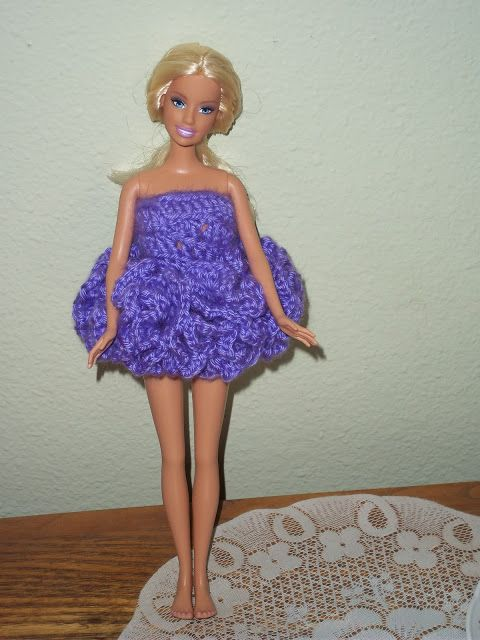 Ballerina Tutu pattern for a Barbie size doll