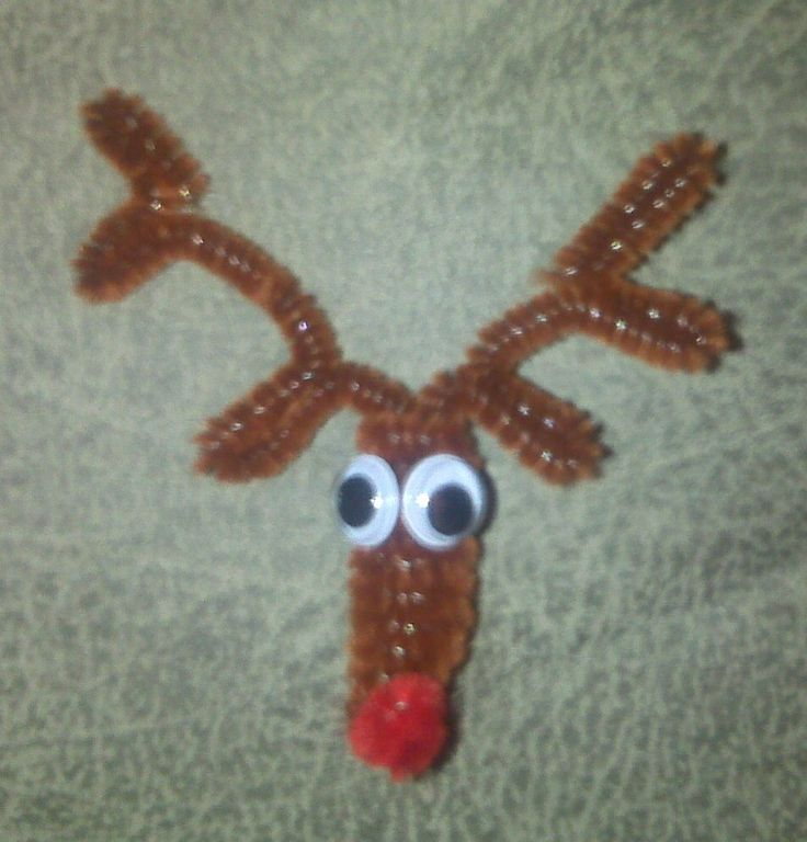 Pipe Cleaner Antlers