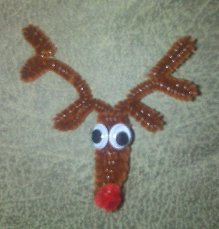 Pipe cleaner antlers | Interesting diy | Pinterest ...