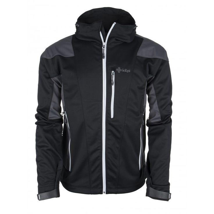 Men's softshell jacket KILPI - WINSTON - light grey