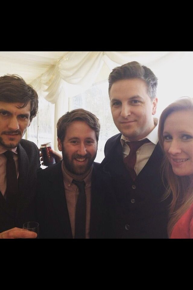Mathew baynton, Jim Howick, Ben willbond, and Martha Howe Douglas