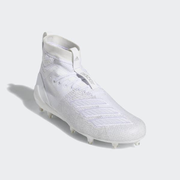 Adidas Adizero 8 0 Sk Cleats White Adidas Us Cleats White Adidas Football Cleats