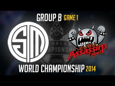 TSM vs TPA Worlds Group B Game 1 | Team Solomid vs Taipei Assassins LoL ...