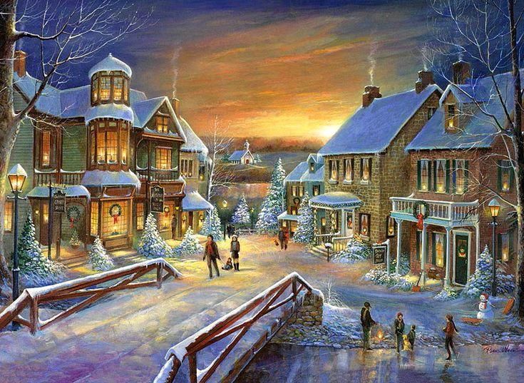 396 Best Winter Amp Christmas Landschaften Images On