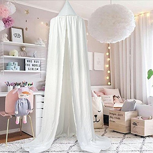 Mu0026M Mymoon Girls Bed Canopy Reading Nook Tent Dome Mosquito Net Hanging Decoration Indoor Game House for Baby Kids (White) #Mymoon #Girls #Canopy # Reading ... & Best 25+ Kids reading tent ideas on Pinterest | 3 room tent Diy ...