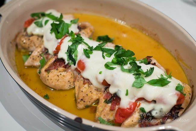 Italiensk fylld kyckling med mozarella - 56kilo