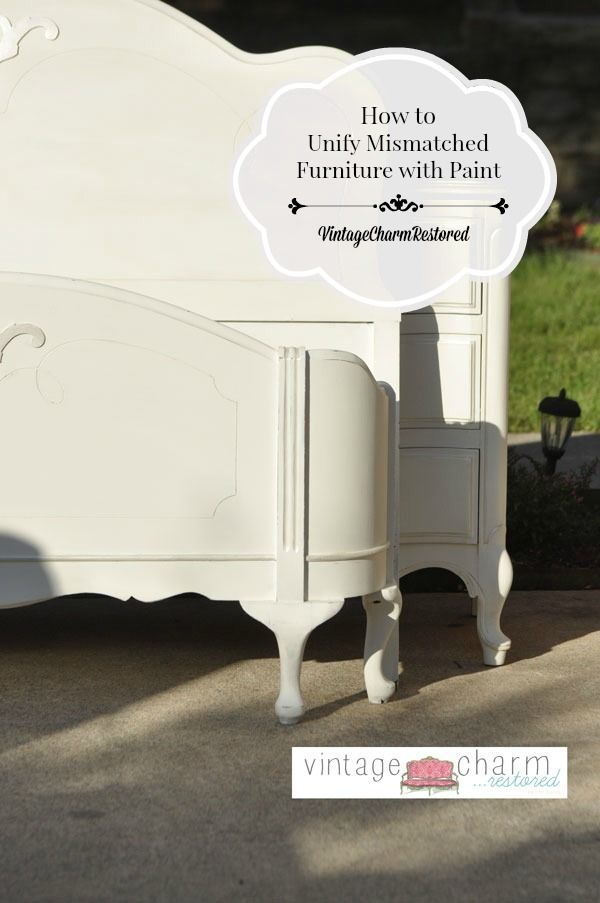 Use paint to transform odds & ends of furniture into a stunning set.