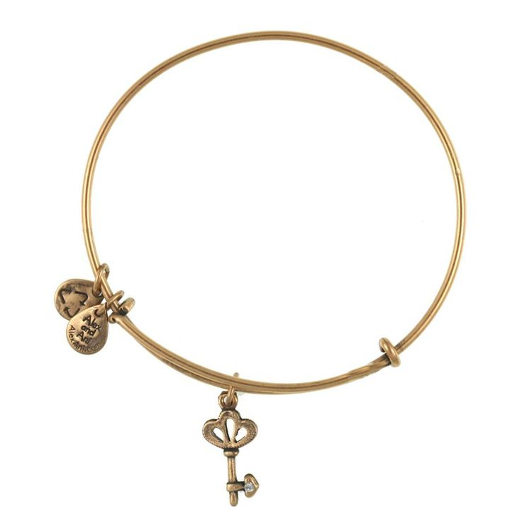 Skeleton Key Charm Bracelet | Alex and Ani Power • Choice • Liberation $28.00 Keys unlock doors, revealing secrets and treasures within. A symbol of authority, keys represent the freedom to come and go without hindrance. Wear the key to unlock the secret places in your being. There you will find your most valuable treasures.